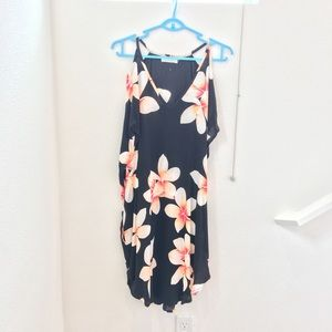 NWOT S Dress Rei in Sunset Plumeria